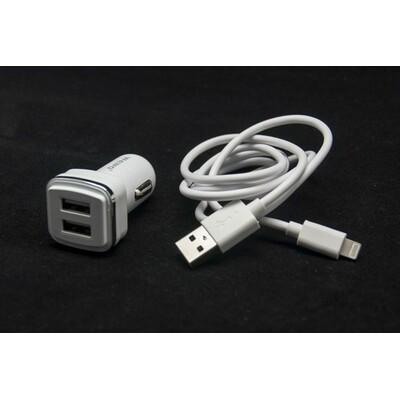 WEWO W-006 2XUSB 2400mA + iPhone 5/6 USB data