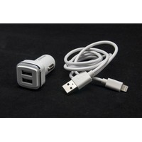 WEWO W-006 2XUSB 2400mA + iPhone 5/6 USB data