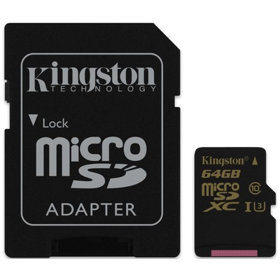 KINGSTON SDCG 64GB class U3 UHS-I