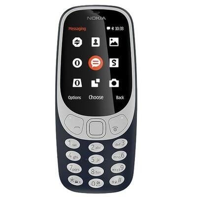 Nokia 3310 DS Dark Blue Dual Sim