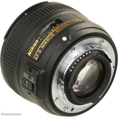 NIKON 50mm f/1.8G AF-S