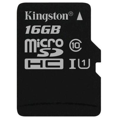 KINGSTON CANVAS SDCS/16GBSP