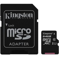 KINGSTON CANVAS  SDCS/64GB