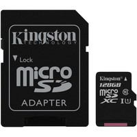KINGSTON CANVAS SDCS/128GB