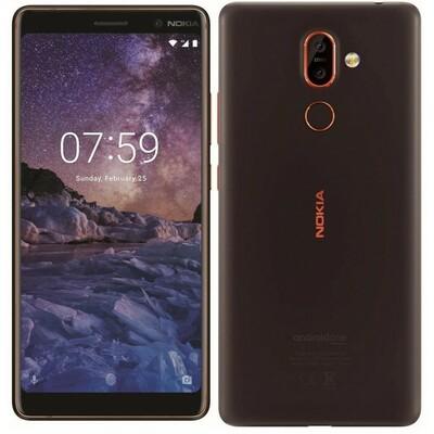 Nokia 7 Plus DS Black Copper Dual Sim