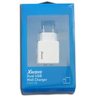 X WAVE H22 Dual USB 5V 1A/2.1A W