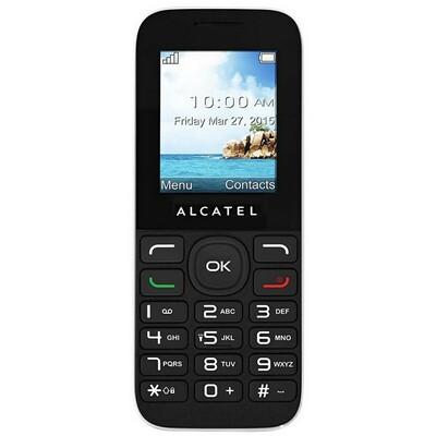 ALCATEL 1050D Black