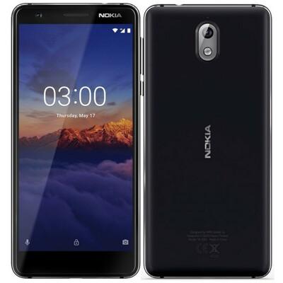 Nokia 3.1 DS Black Dual Sim
