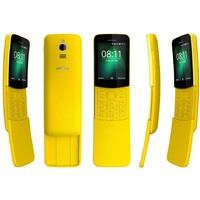 Nokia 8110 4G DS Yellow Dual Sim