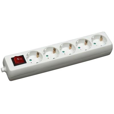 COMMEL 1.4m 5 uticn. 16A 250V 3500W