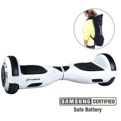 XPLORER hoverboard City V3 white