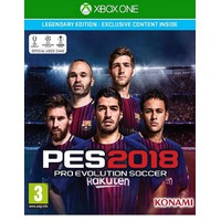 XBOXONE PES 2018 Legendary Edition