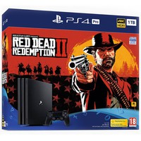 SONY PS4 1TB Pro + Red Dead Redemption 2