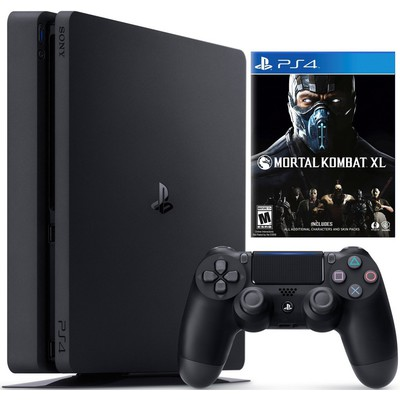 PS4 1TB Slim + Mortal Kombat XL