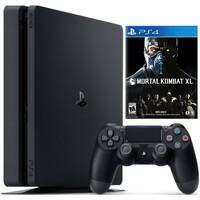 PS4 1TB Slim + Mortal Kombat XL