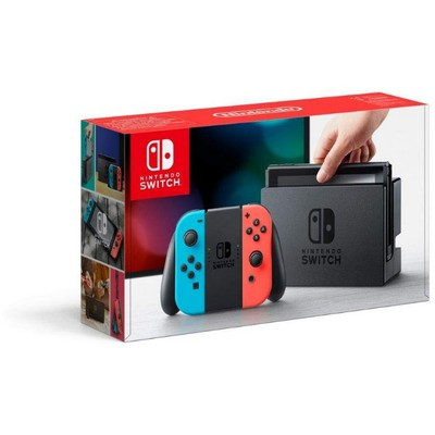 Nintendo Switch Console Red and Blue Joy-Con