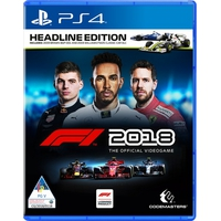 CODEMASTERS PS4 F1 2018 Headline Edition