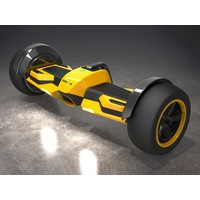 GYROOR hoverboard GF1 Formula One Yellow