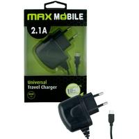 MAX MOBILE MICRO USB 2.1A crni