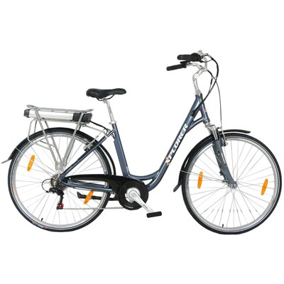 XPLORER E BIKE SILVER LINE LADY 26