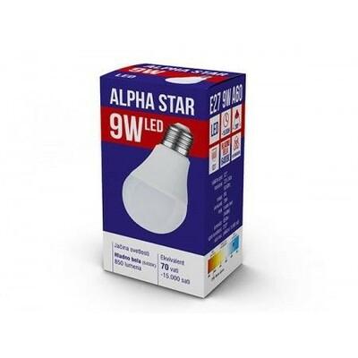 ALPHA STAR E27 9W HB 6400K