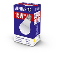 ALPHA STAR E27 15W HB 6400K