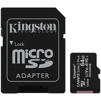 KINGSTON SDCS2/64GB UHS 1 + ADAPTER