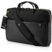 HP DUOTONE BRIEFCASE  BLACK/GOLD 15.6 4QF94AA