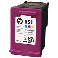 HP No.651 Color C2P11AE