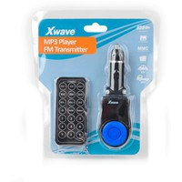 X WAVE BT63 blue FM Transmiter