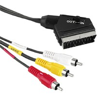 HAMA SCART na 3cinc M/M in out  1.5m 431783