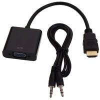 LINKOM-Konvertor HDMI na VGA (m/z) + audio