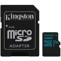 KINGSTON SDCG2/32GB UHS U3 + ADAPTER