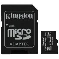 KINGSTON SDCS2/16GB UHS U1 + ADAPTER