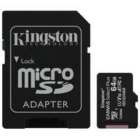 KINGSTON SDCS2/64GB UHS 1 + ADAPTER