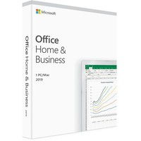 MS Office Home and Business 2019 English CEE Only Medialess P6 T5D-03347