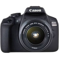 CANON EOS 2000D+18-55MM DC III