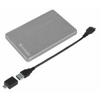 Verbatim Alu Slim HDD 1TB Grey 53662
