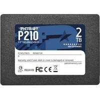 PATRIOT SSD 2.5 SATA3 2TB P210 520MBS/430MBS P210S2TB25