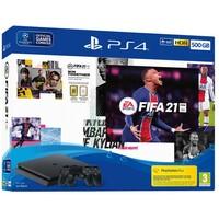 SONY PS4 500GB Slim + DS4 + FIFA 21