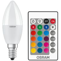 OSRAM LED Sijalica RGB daljinski E14 5.5W 2700k dim