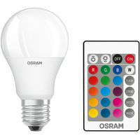OSRAM LED Sijalica RGB daljinski E27 9W 2700k dim