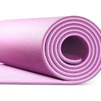 YUNMAI Yoga prostirka Widen ljubicasta