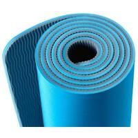 YUNMAI Yoga prostirka Widen plava
